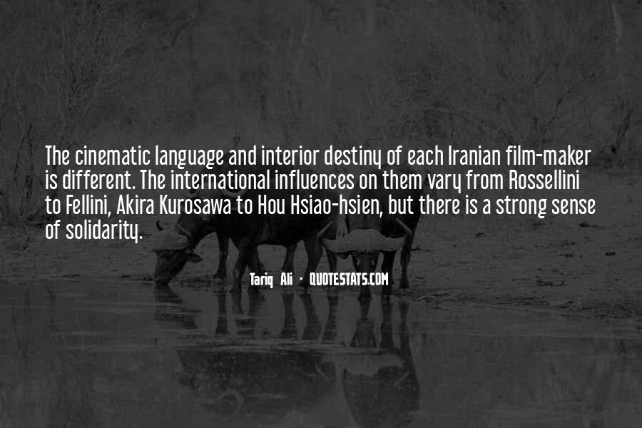 Quotes About Fellini Film #1046328