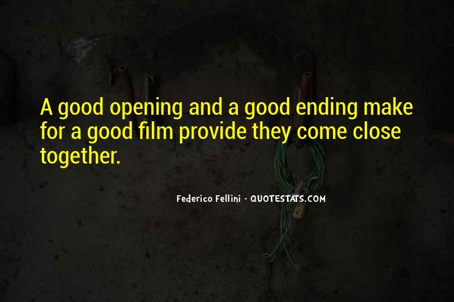Quotes About Fellini Film #1658003