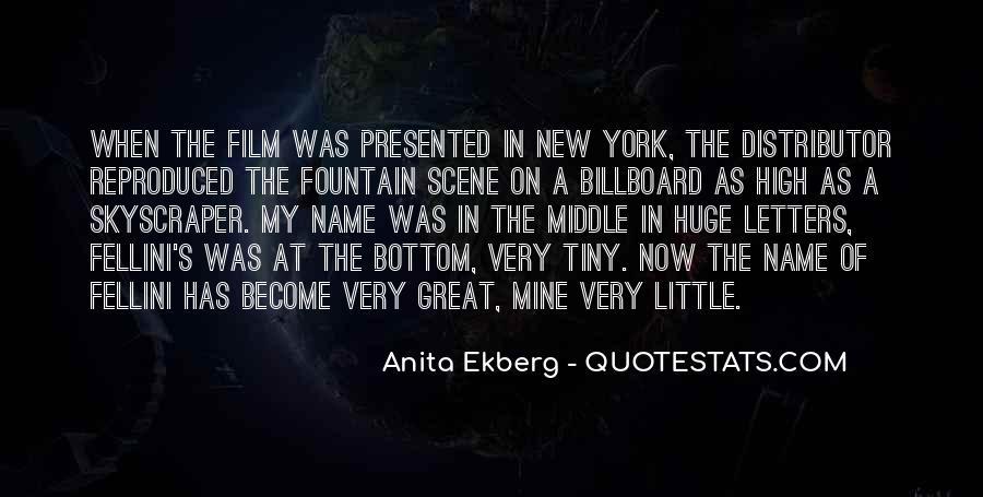 Quotes About Fellini Film #24984