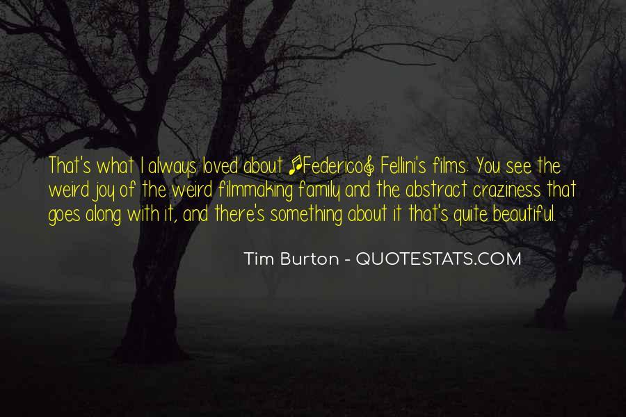 Quotes About Fellini Film #668125
