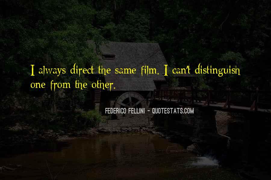 Quotes About Fellini Film #751201