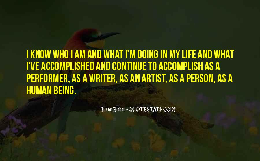 I Know Who Am I Quotes #181919