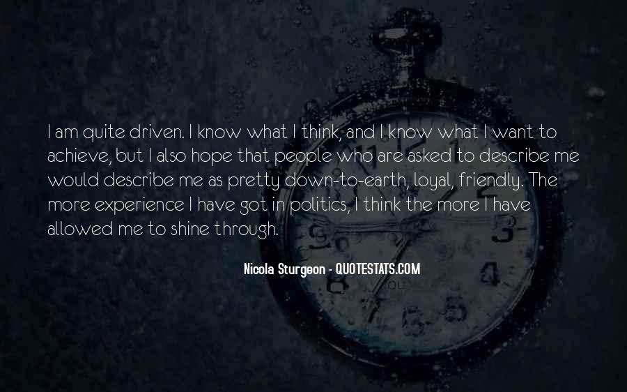 I Know Who Am I Quotes #25238