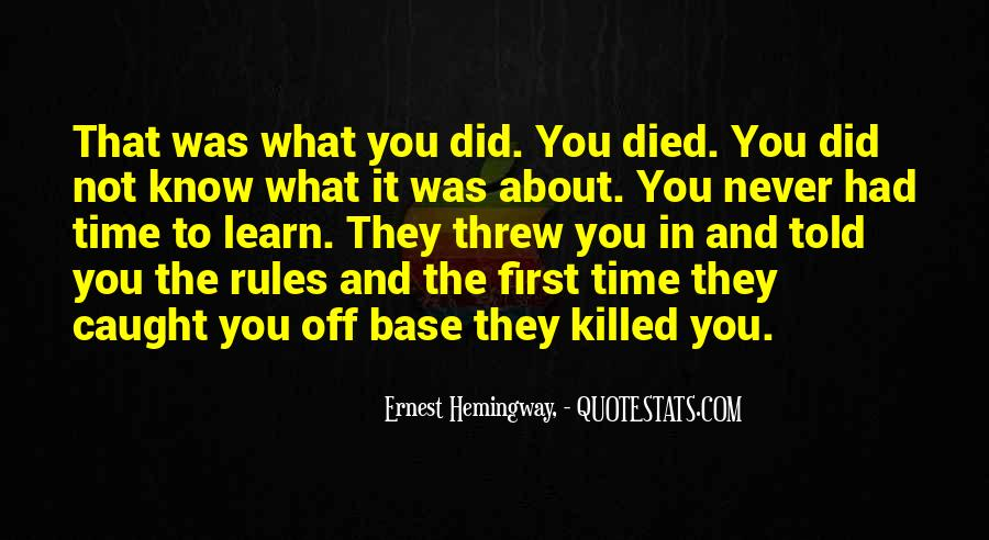 I Know Who Killed Me Quotes #260966