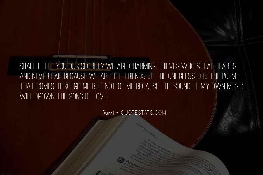 I Know You Love Me Because Quotes #121681
