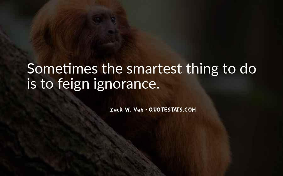 Quotes About Feign #1178857