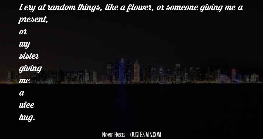 I Like Nice Things Quotes #1664451