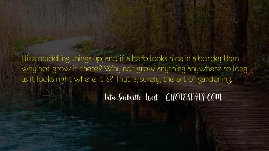I Like Nice Things Quotes #92590