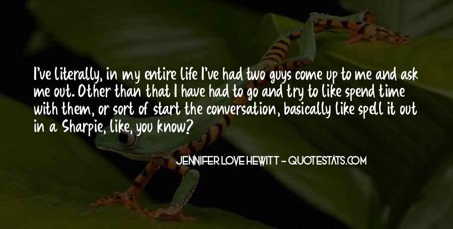 I Like Two Guys Quotes #188151