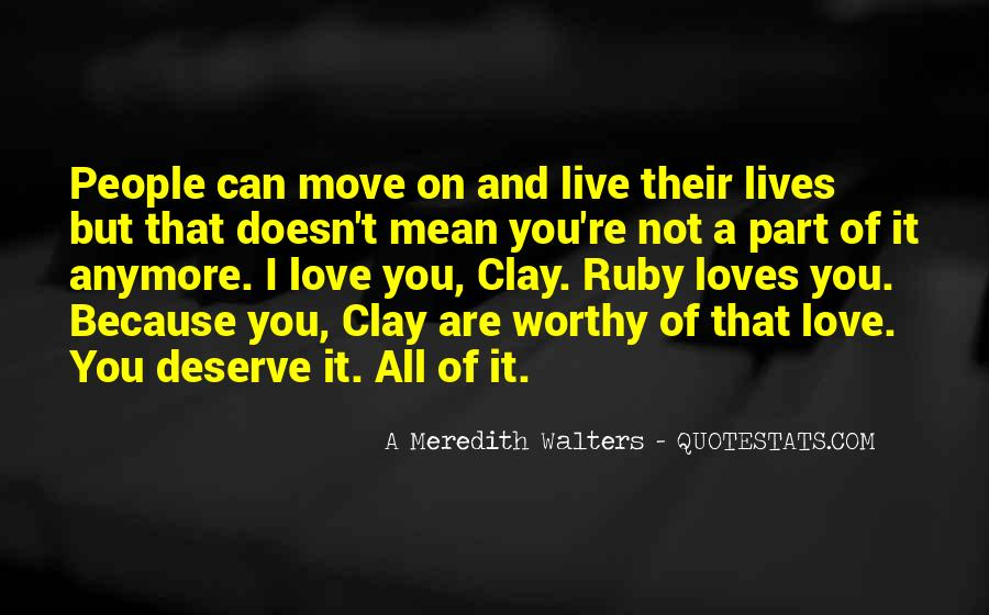 I Live Because Of You Quotes #472221