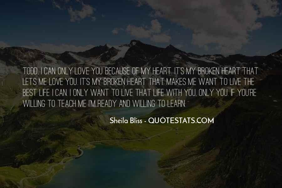 I Live Because Of You Quotes #523456