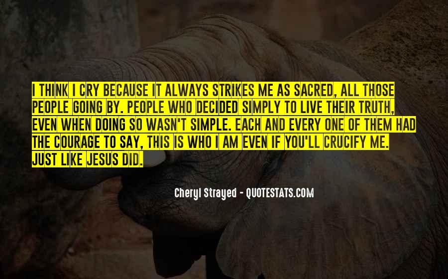 I Live Because Of You Quotes #98827