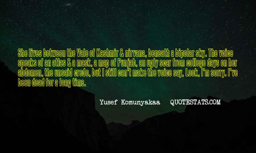I Look Ugly Quotes #1849438