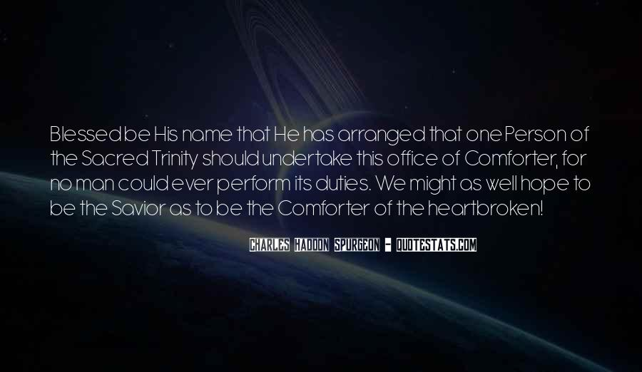 Quotes About The Blessed Trinity #39712