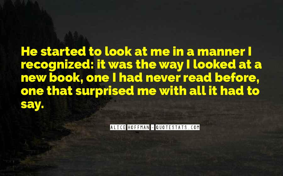I Looked Quotes #26947