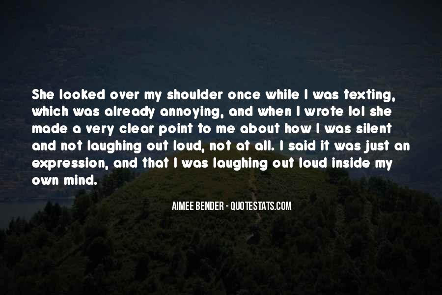 I Looked Quotes #27420