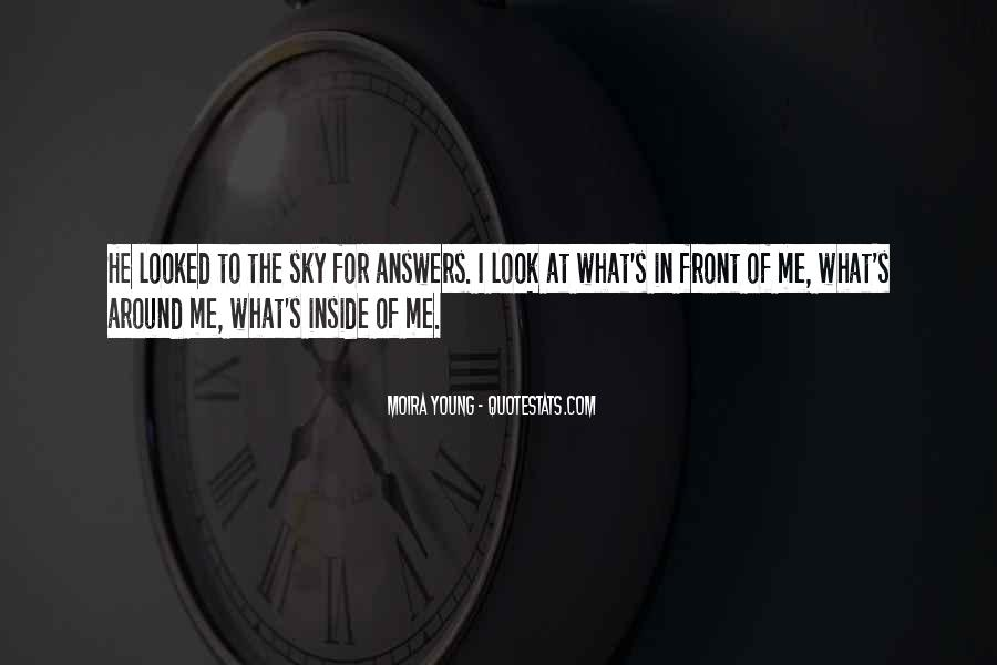 I Looked Quotes #41866