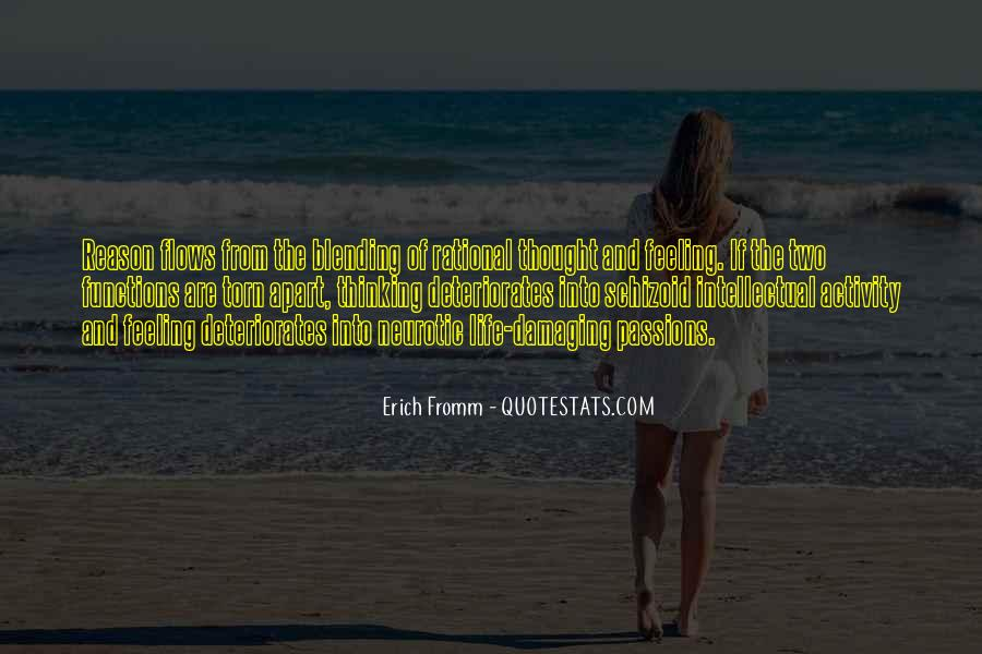 Quotes About Feeling Torn Apart #251916