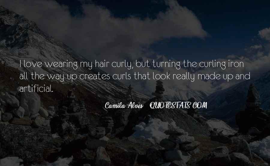 I Love My Curls Quotes #686219