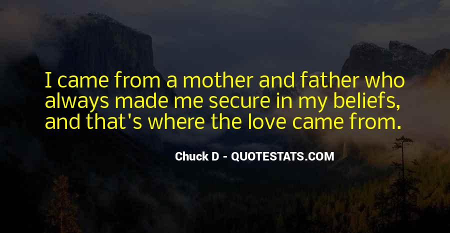 I Love My Father And Mother Quotes #244533