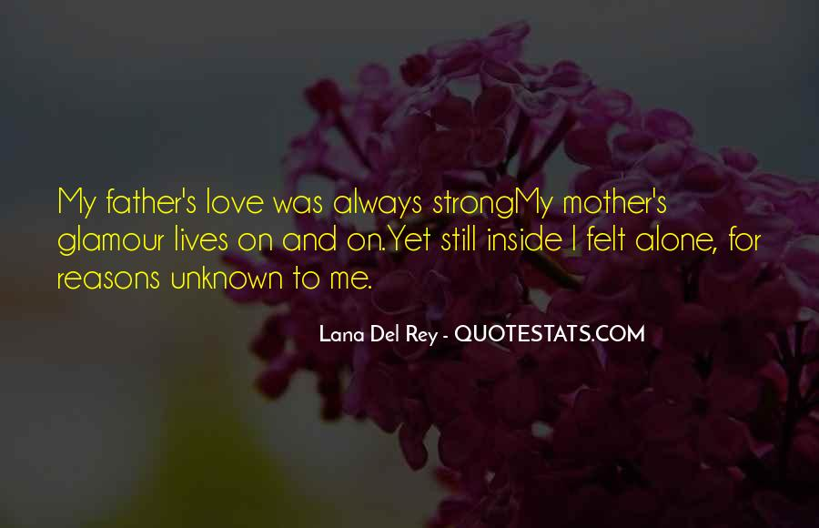 I Love My Father And Mother Quotes #323835