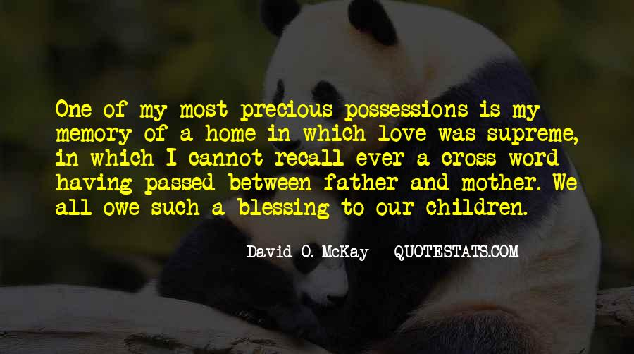 I Love My Father And Mother Quotes #89649