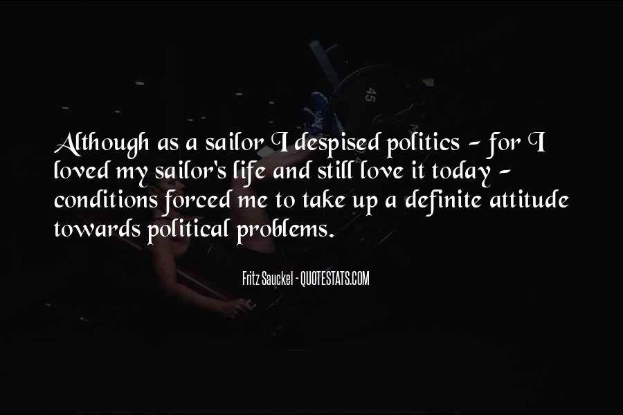 I Love My Us Sailor Quotes #910457