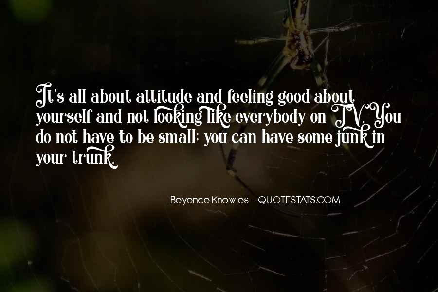 Quotes About Feeling Small #1268448