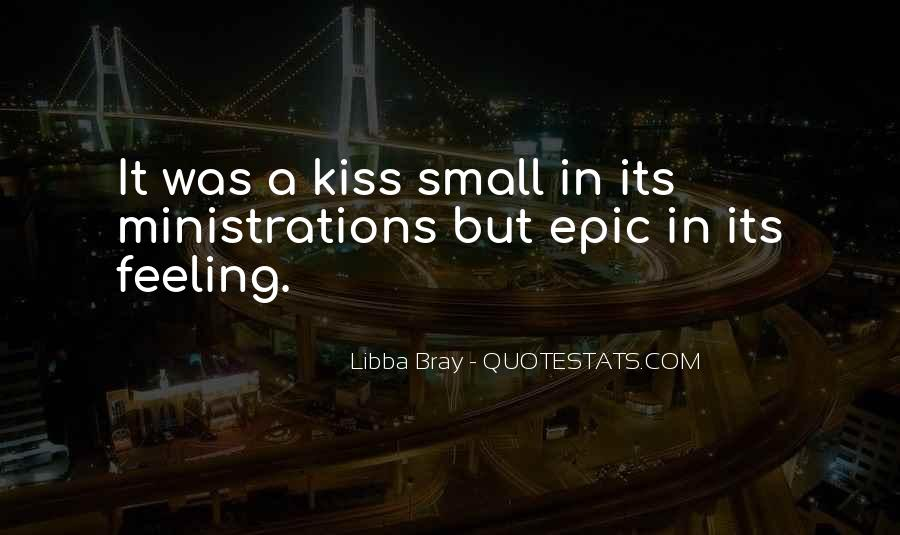 Quotes About Feeling Small #1490118