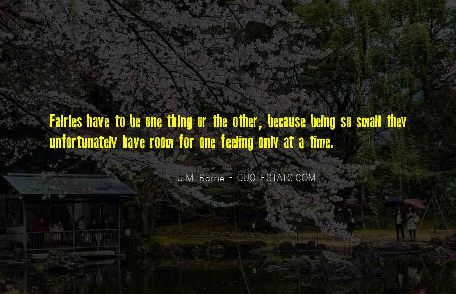 Quotes About Feeling Small #1591505