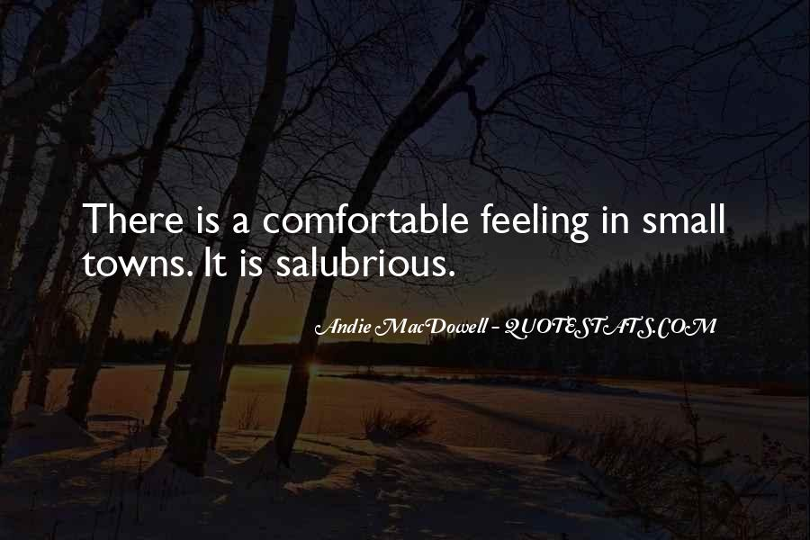 Quotes About Feeling Small #1601800
