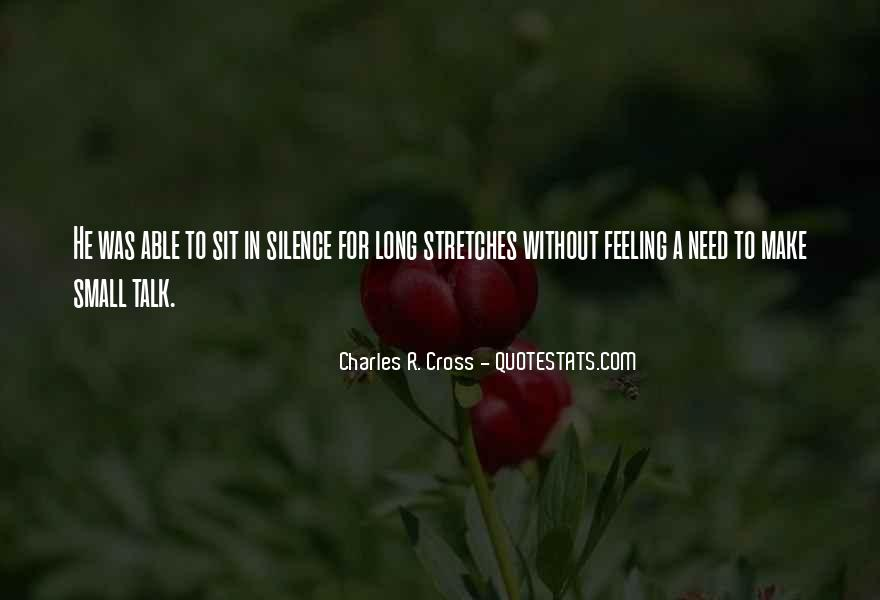 Quotes About Feeling Small #186982