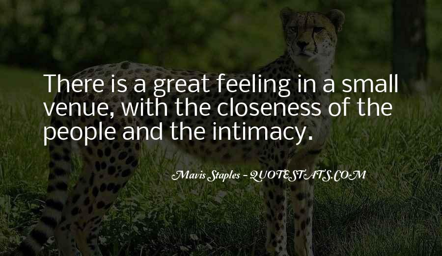 Quotes About Feeling Small #864538