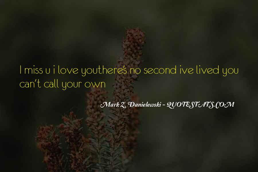 I Love U Quotes #2732