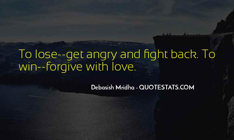 I Love When You Get Angry Quotes #246053
