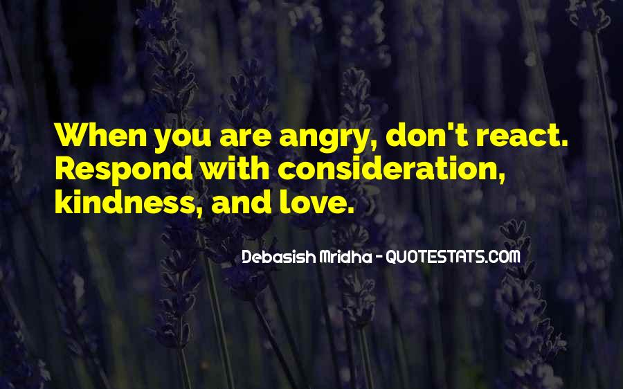 I Love When You Get Angry Quotes #329287