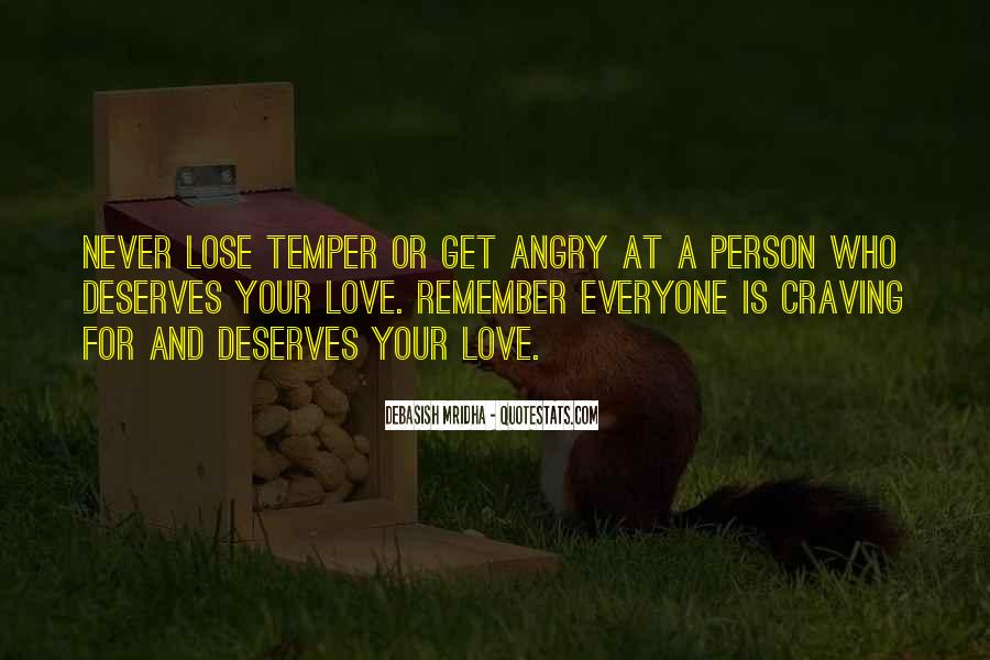 I Love When You Get Angry Quotes #4593