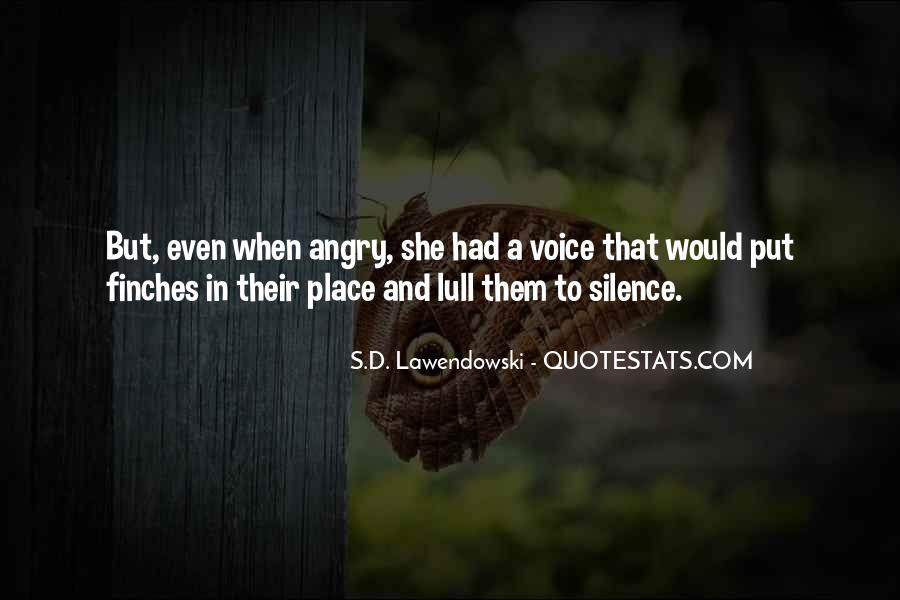 I Love When You Get Angry Quotes #5842