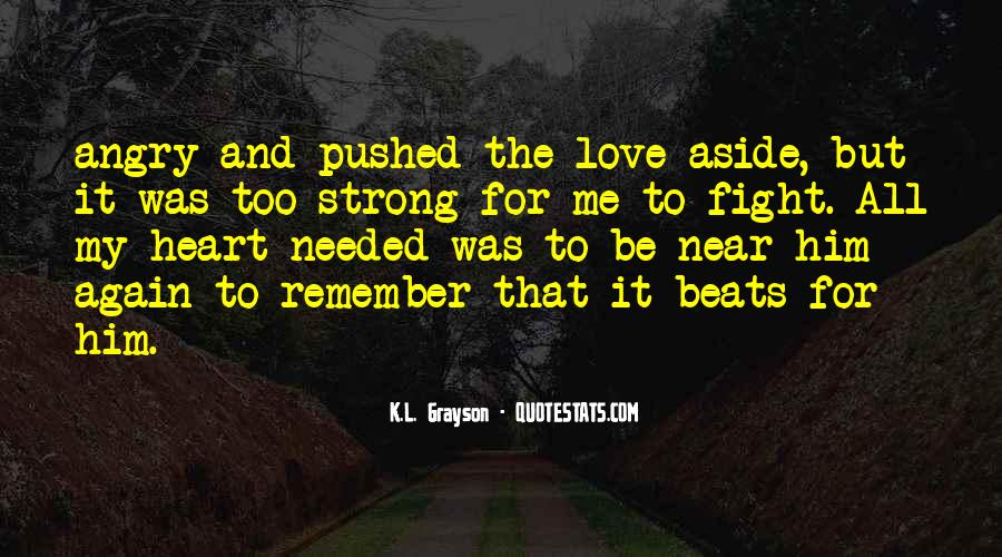 I Love When You Get Angry Quotes #82517
