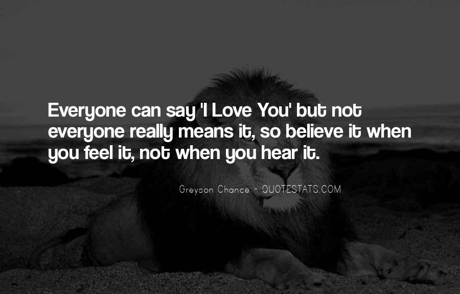 I Love You But I Can Quotes #14575