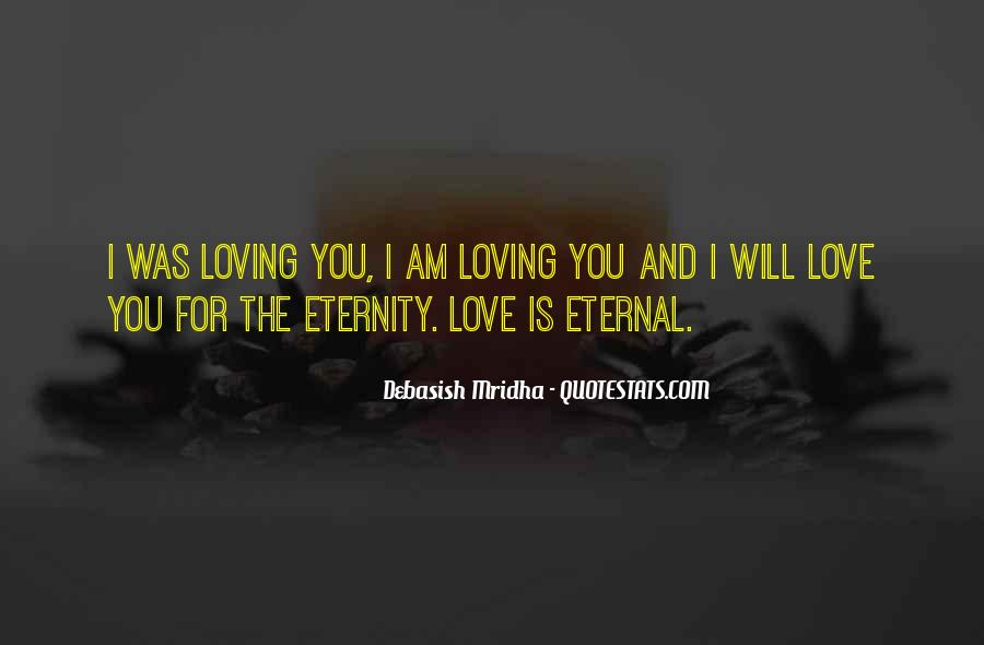 I Love You For Eternity Quotes #1555741