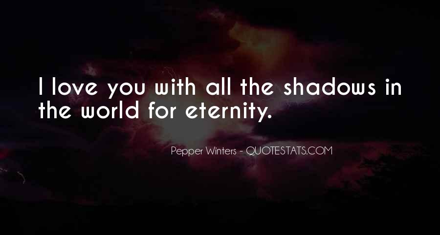 I Love You For Eternity Quotes #503670