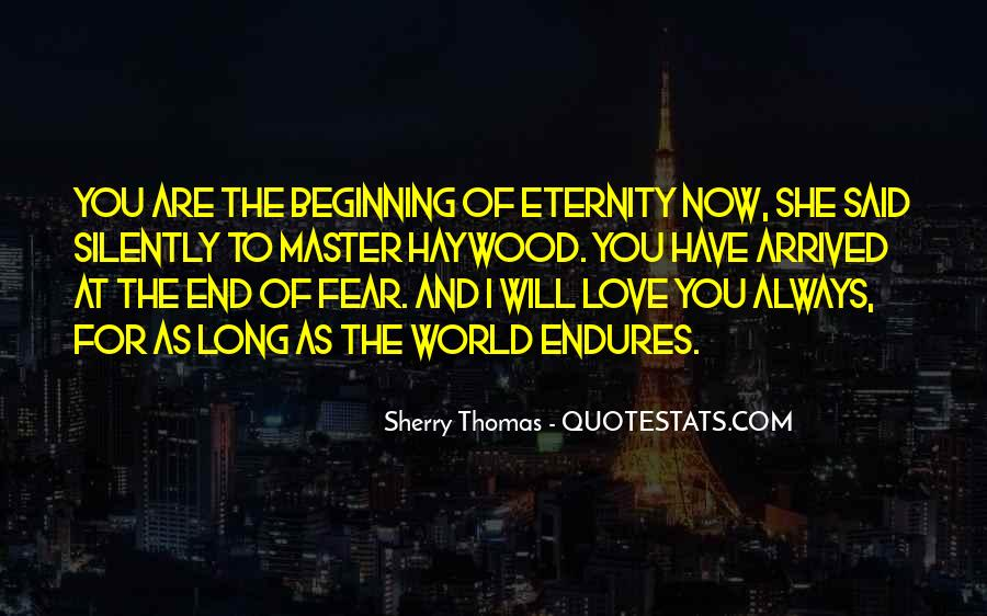 I Love You For Eternity Quotes #603041