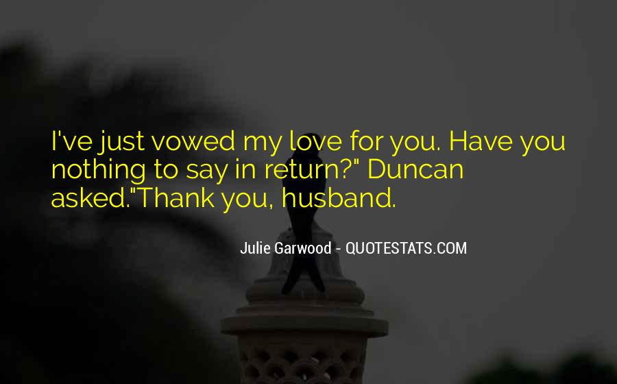 I Love You For Husband Quotes #1815249