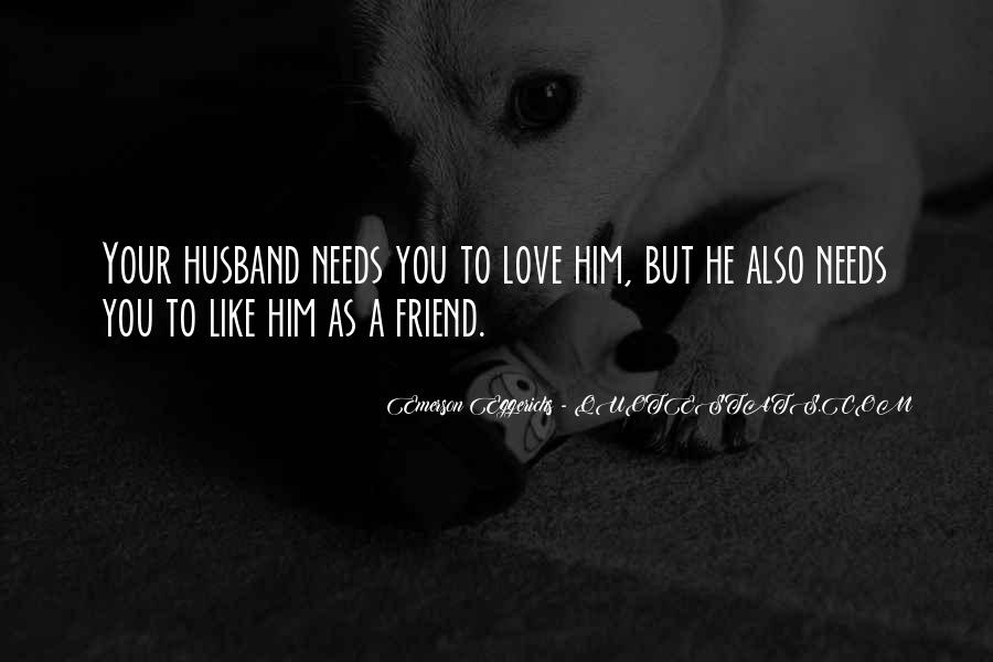 I Love You For Husband Quotes #33058