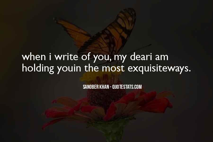 I Love You My Dear Quotes #1732609