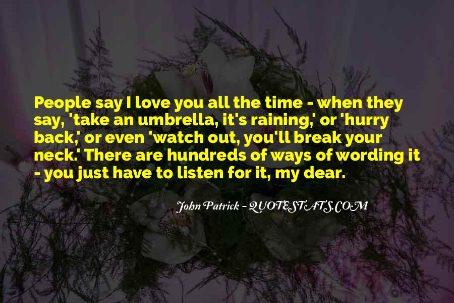 I Love You My Dear Quotes #868790