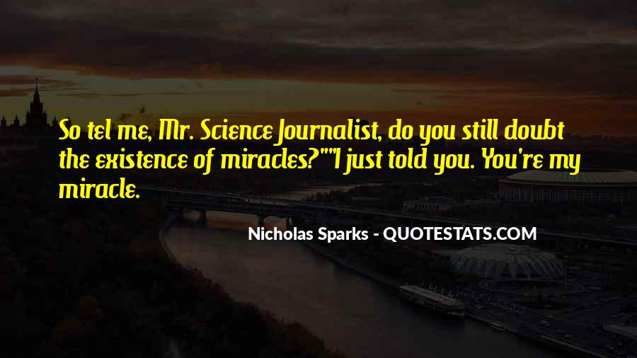 I Love You Science Quotes #244859
