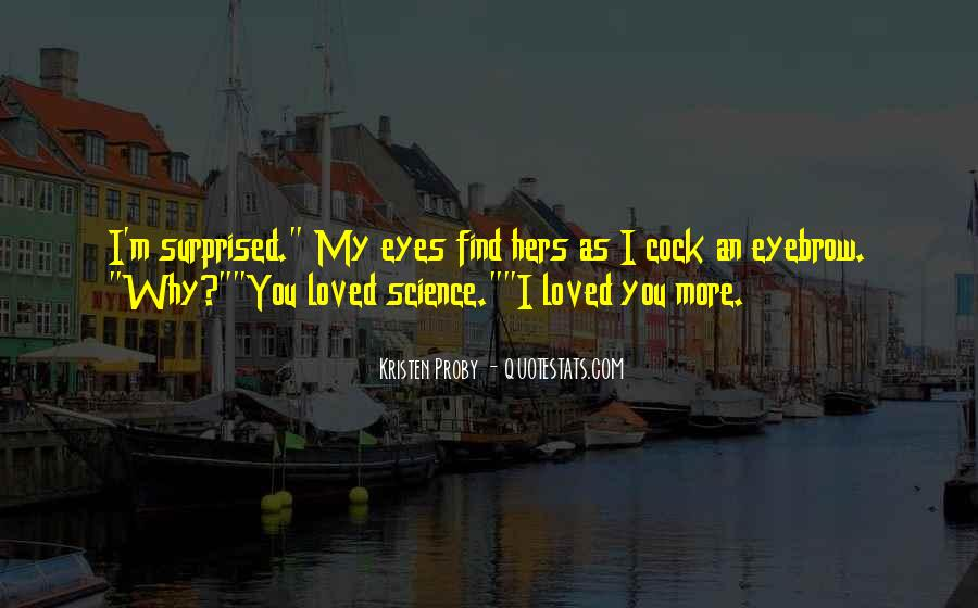 I Love You Science Quotes #266475