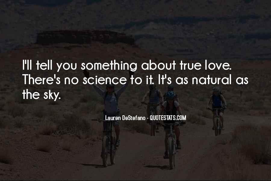 I Love You Science Quotes #420318